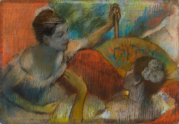 Drawn in colour: Degas from The Burrel, The National Gallery, Londra