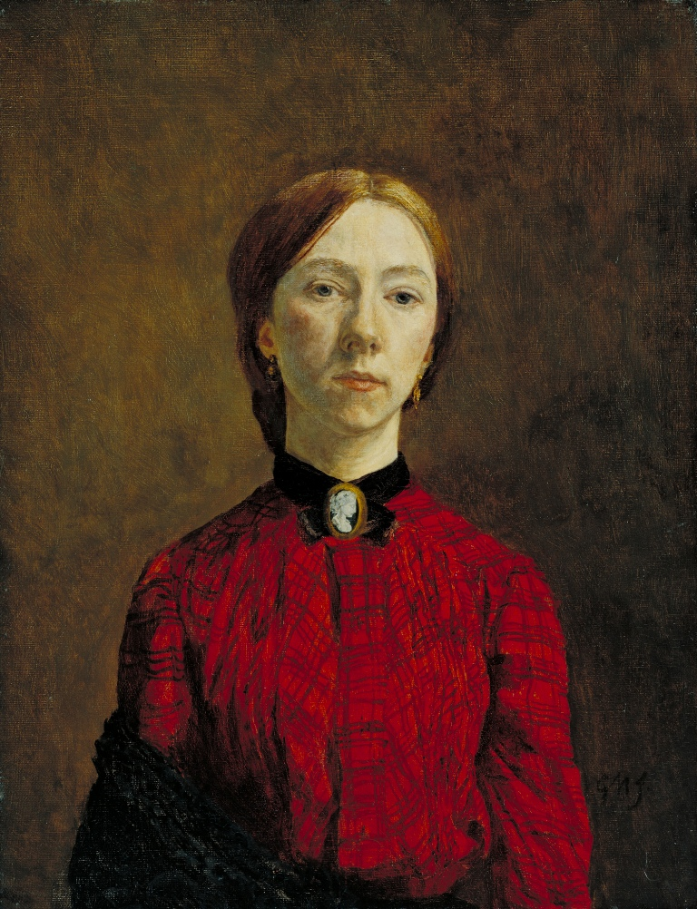 Gwen John - Self-Portrait 1902 Tate