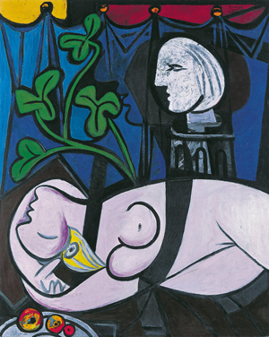 Pablo Picasso Nude, Green Leaves and Bust (Femme nue, feuilles et buste) 1932