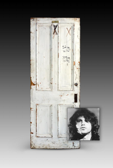 La porta di Jim Morrison Photo courtesy: Guernsey's