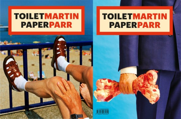 Cover: Martin Parr. Back Cover: Toiletpaper. ToiletMartin PaperParr, published by Damiani. Concept by Maurizio Cattelan and Pierpaolo Ferrari. Special Guest @Martin Parr/Magnum Photos.