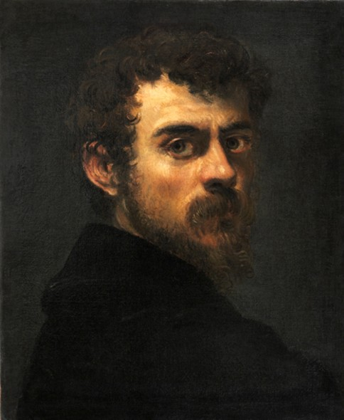 Tintoretto - Autoritratto, 1547 © Philadelphia Museum of Art