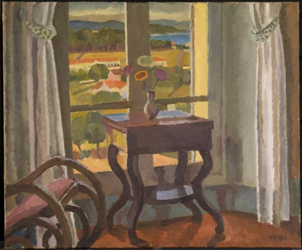 Vanessa Bell - Interior with a Table 1921 © Tate