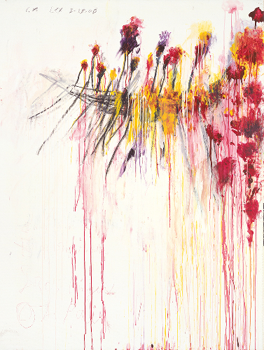 Cy Twombly Gagosian NYC