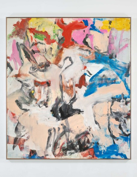 Williem de Kooning, Untitled XII, 1975 Oil on canvas 79 ¾ x 69 ¾ inches (202.6 x 177.2 cm) © The Willem de Kooning Foundation / Artists Rights Society (ARS), New York