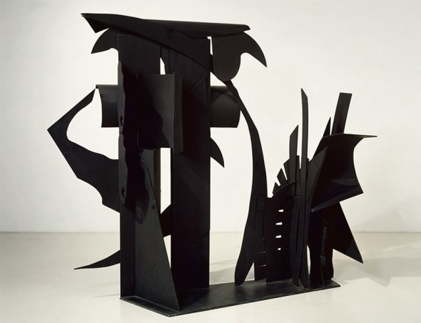 Pace Gallery - Louise Nevelson Sculpture Installed on Lake Geneva