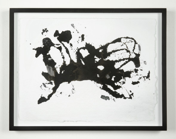 Joan Jonas Untitled from Reanimation performance, 2014 Ink on paper 29×37 cm Courtesy dell'artista e Galleria Raffaella Cortese, Milano