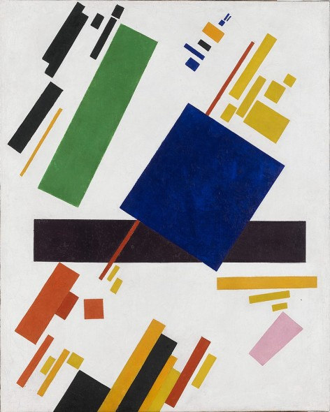 Kazimir Malevich Suprematist Composition, 1916 Oil on canvas 88.5 cm × 71 cm  Private collection