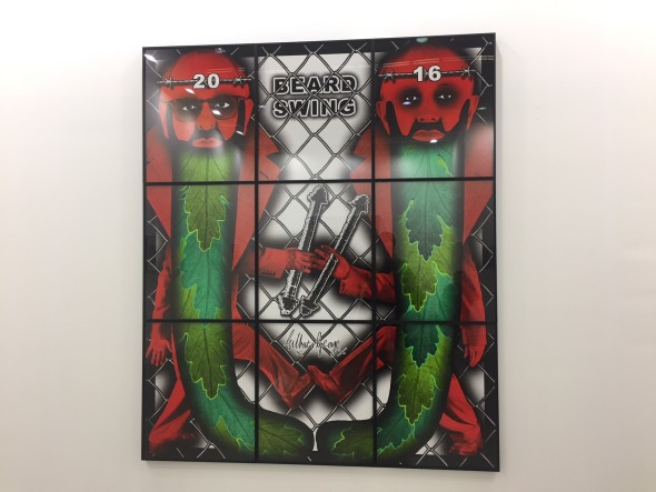 Gilbert and George, Alfonso Artiaco, miart 2018
