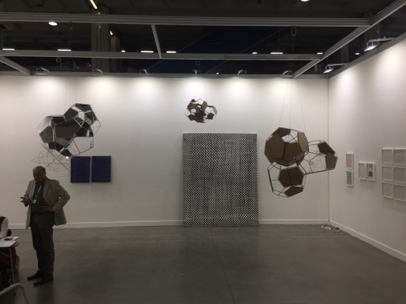 Lo stand Andersen, a miart 2018