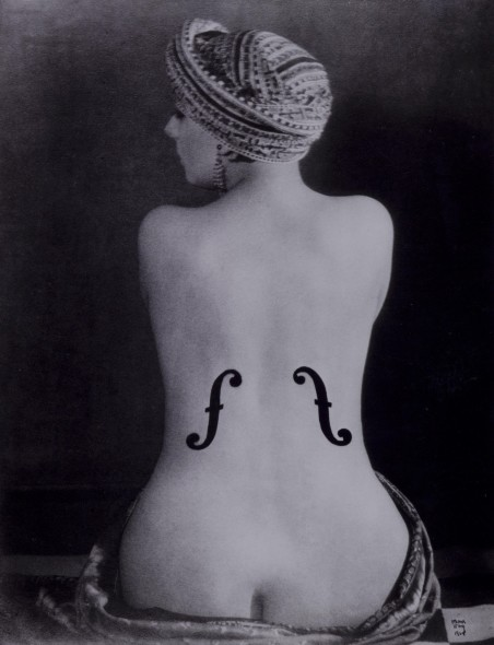 Man Ray, Violon d'Ingres (Kiki), 1924, © Man Ray Trust by SIAE 2018