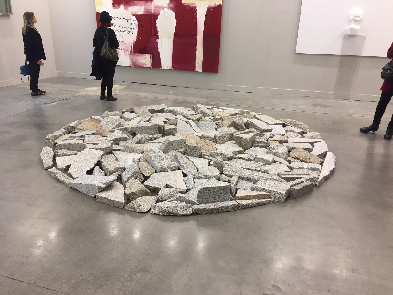 Richard Long, Gian Enzo Sperone, miart 2018