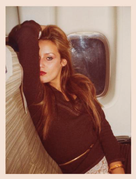 Jerry Hall, 1975.