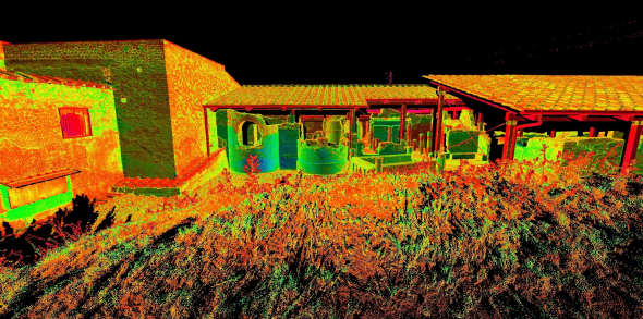 Stabia, Italia. Point Cloud