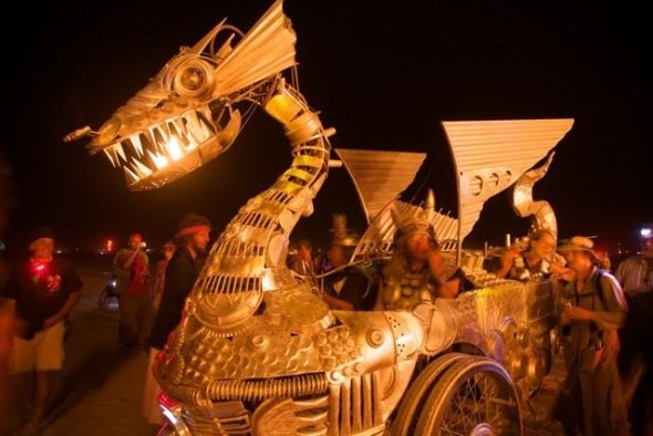 Duane Flatmo, Tin Pan Dragon 2008, Photo by NK Guy
