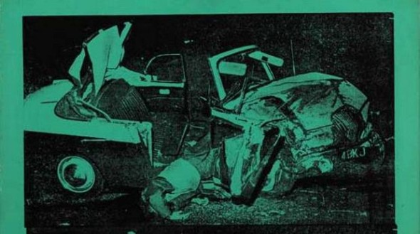 Andy Warhol, Green Disaster from Death and Disaster series, 1963