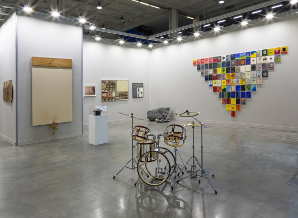 Galleria Fumagalli booth C38, installation view, miart 2018