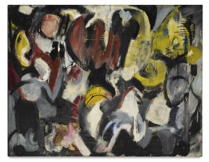 LOT 41 GRACE HARTIGAN MONTHS AND MOONS Estimate   400,000 — 600,000 USD PRICE REALIZED USD  435,000