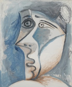 LOT 17 PABLO PICASSO TÊTE DE FEMME AU CHIGNON Estimate   2,500,000 — 3,500,000 USD PRICE REALIZED USD 2,175,000