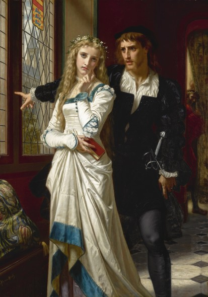Hugues Merle FRENCH HAMLET AND OPHELIA Estimate  250,000 — 350,000  USD