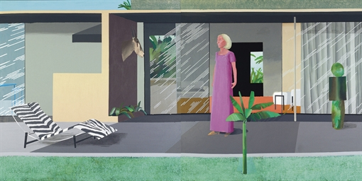 David Hockney, Beverly Hills Housewife 1966/1967
