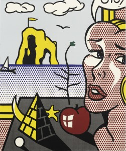 LOT 11 ROY LICHTENSTEIN STILL LIFE WITH HEAD IN LANDSCAPE Estimate   7,000,000 — 10,000,000 USD PRICE REALIZED USD 10,501,900