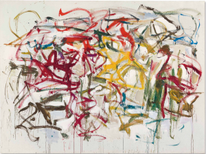 LOT 11 B Joan Mitchell (1925-1992) Untitled oil on canvas 81 1/4 x 108 1/2 in. (206.3 x 275.6 cm.) ESTIMATE $7,000,000 - $9,000,000   PRICE REALIZED 9,087,500