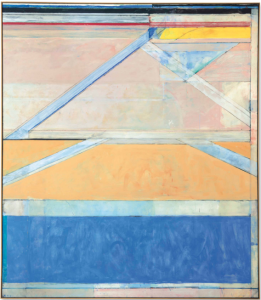 LOT 26 B Richard Diebenkorn (1922-1993) Ocean Park #126 oil on canvas 93 x 81 in. (236.2 x 205.7 cm.) ESTIMATE $16,000,000 - $20,000,000   PRICE REALIZED 23,937,500