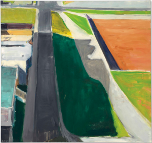 LOT 30 B Richard Diebenkorn (1922-1993) Cityscape #3 oil on canvas 47 x 50 1/8 in. (119.4 x 127.3 cm.) ESTIMATE $4,000,000 - $6,000,000   PRICE REALIZED 5,262,500