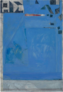 LOT 31 B Richard Diebenkorn (1922-1993) Untitled gouache, charcoal and pasted paper on joined paper 33 3/4 x 23 in. (85.7 x 58.4 cm.) ESTIMATE $1,000,000 - $1,500,000   PRICE REALIZED 1,092,500