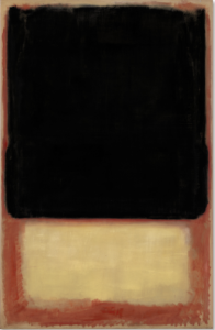 LOT 34 B Mark Rothko (1903-1970) No. 7 (Dark Over Light) oil on canvas 90 1/8 x 58 5/8 in. (228.8 x 148.8 cm.) ESTIMATE Estimate on request   PRICE REALIZED 30,687,500