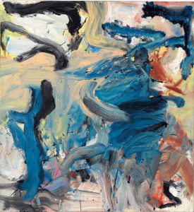 LOT 40 B Willem de Kooning (1904-1997) Untitled XVIII oil on canvas 59 1/2 x 55 in. (151.1 x 139.7 cm.) ESTIMATE $8,000,000 - $12,000,000   PRICE REALIZED 10,887,500