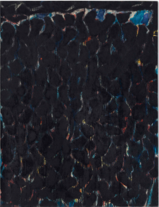 LOT 62 B Sam Francis (1923-1994) Black and Red oil on canvas 45 5/8 x 35 in. (115.8 x 88.9 cm.) ESTIMATE $1,400,000 - $1,800,000  UNSOLD