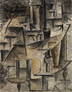 Lot 20 A Pablo Picasso (1881-1973) L'Huilier oil on canvas 9 ½ x 7 ½ in. (24.1 x 19.2 cm.)  estimate $1,800,000 - $2,500,000  PRICE REALIZED 3,132,500