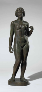 Lot 31 A Aristide Maillol (1861-1944) Marie bronze with green and brown patina Height: 62 in. (157.5 cm.)  estimate $700,000 - $1,000,000  PRICE REALIZED 732,500