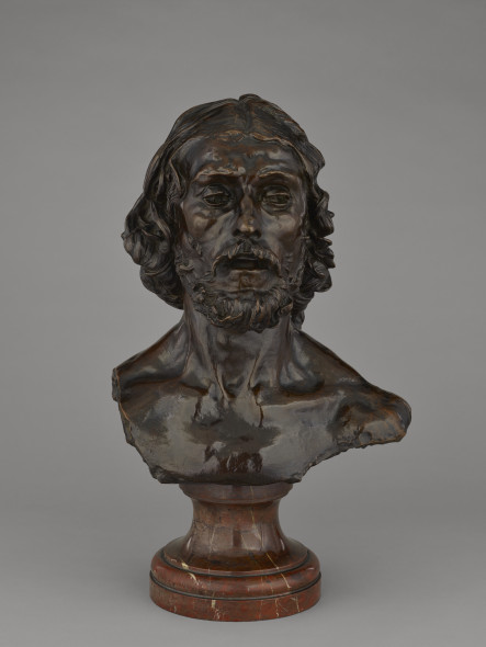 Bust of John the Baptist  Cast in 1886 from a model made in 1880  Auguste Rodin (French, 1840-1917)
