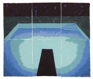 LOT 11 DAVID HOCKNEY PISCINE DE MEDIANOCHE (PAPER POOL 30) Estimate   5,000,000 — 7,000,000 USD PRICE REALIZED USD  11,743,800