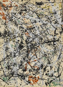 LOT 14 JACKSON POLLOCK NUMBER 32, 1949 Estimate   30,000,000 — 40,000,000 USD PRICE REALIZED USD  34,098,000