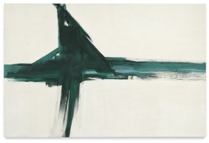 LOT 15 FRANZ KLINE GREEN CROSS Estimate   6,500,000 — 7,500,000 USD PRICE REALIZED USD 5,195,600
