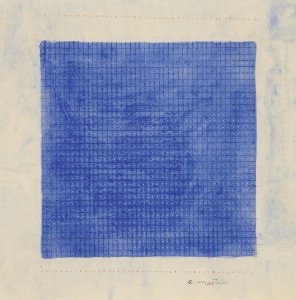LOT 19 AGNES MARTIN STARS Estimate   600,000 — 800,000 USD PRICE REALIZED USD  1,695,000