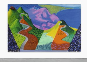 LOT 21 DAVID HOCKNEY PACIFIC COAST HIGHWAY AND SANTA MONICA Estimate   20,000,000 — 30,000,000 USD PRICE REALIZED USD   28,453,000