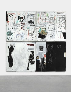 LOT 24 JEAN-MICHEL BASQUIAT FLESH AND SPIRIT Estimate   Estimate Upon Request PRICE REALIZED USD 30,711,000