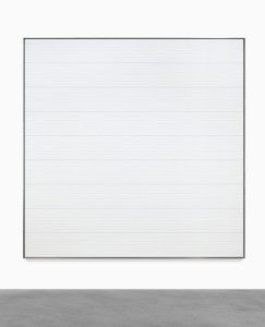 LOT 32 AGNES MARTIN UNTITLED #3 Estimate   2,500,000 — 3,500,000 USD PRICE REALIZED USD  3,840,800