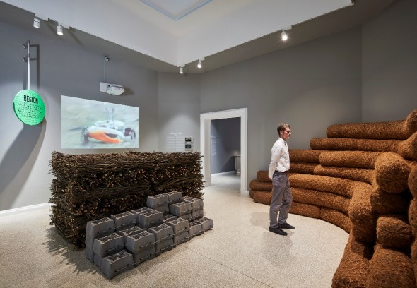 Ecological Citizens by SCAPE at the 2018 U.S. Pavilion. Photo © Tom Harris. Courtesy of the School of the Art Institute of Chicago and the Unive