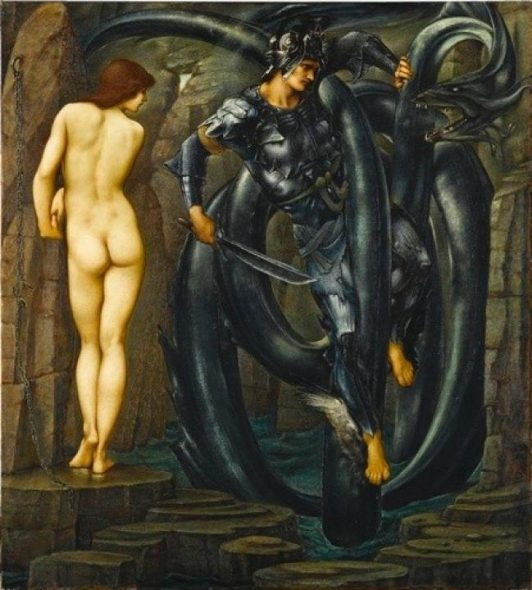 Edward Burne-Jones The Doom Fulfilled 1888 Oil paint on canvas, 155 x 140 mm Staatsgalerie, Stuttgart