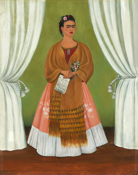 Frida Kahlo, Self Portrait Dedicated to Leon Trotsky, 1937