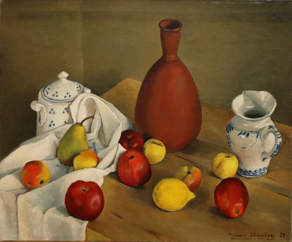 Théodore Strawinsky, Nature morte aux fruits