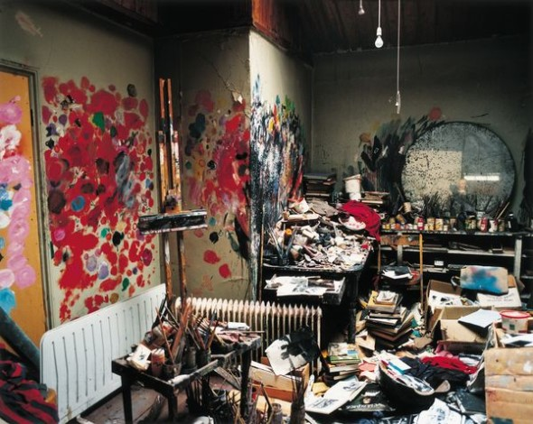 FRANCIS BACON'S 7 REECE MEWS STUDIO, LONDON, 1998 Photographed by Perry Ogden © The Estate of Francis Bacon. All rights reserved / 2018, ProLitteris, Zurich Photo: Perry Ogden/DACS/Artimage