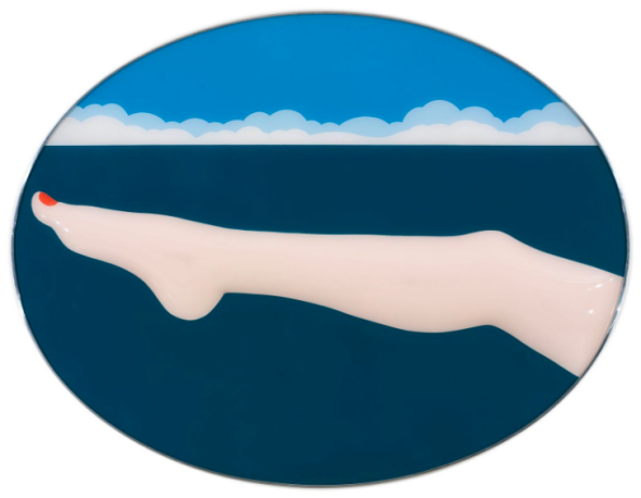 Tom Wesselmann, Seascape #10, 1966, molded Plexiglas painted with gripflex 44 1/2 x 58 1/2 x 1 3/4 inches © The Estate of Tom Wesselmann/Licensed by VAGA, New York © ADAGP, Paris 2018.