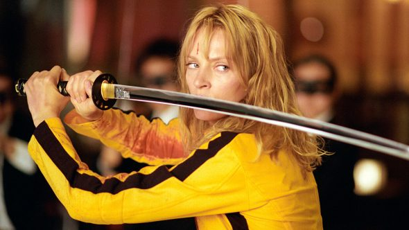 Uma Thurman in Kill Bill: Vol. 1 - Photo © Andrew Cooper / Miramax Films